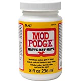 Mod Podge (900112/301), 236ml 8 oz. Matt, Color Blanco, 236 ml