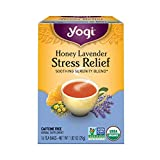 Yogi Honey Lavender Stress Relief Tea, 16 Tea Bags by Yogi Teas