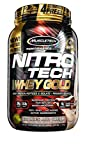 Muscletech Performance Series Nitro Tech 100% Whey Gold Cookies and Cream - 1134 gr