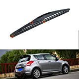 Demino Arm Blade for Suzuki Swift 2004-2010 Car Rear Windscreen Arm Blade Window Wiper Durable Auto Parts