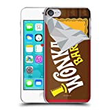 Head Case Designs Oficial Willy Wonka and The Chocolate Factory Candy Bar Graphics Carcasa rígida Compatible con Apple Touch 6th Gen/Touch 7th Gen